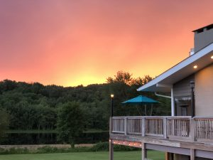 A sunset at Sunset Grille